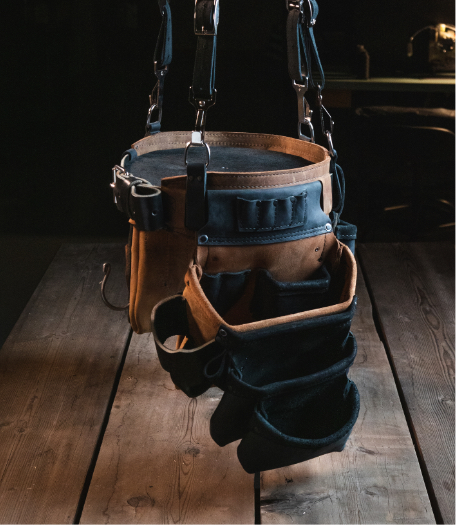 Modular Looped Left Side Bags
